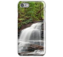 Onondaga Falls in the Green Summer Forest iPhone Case/Skin