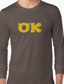 Oozma Kappa (Monsters U) Long Sleeve T-Shirt