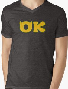 Oozma Kappa (Monsters U) Mens V-Neck T-Shirt