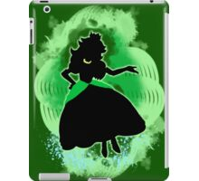 Super Smash Bros. Green Peach Silhouette iPad Case/Skin