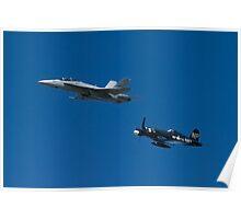 Navy Legacy Flight Poster