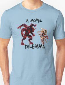 A Moral Dilemma - Full Color Unisex T-Shirt