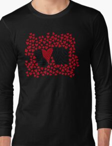 Freehand Sketch Love Letter Long Sleeve T-Shirt