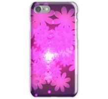 Pink Abstract Flower Dream iPhone Case/Skin