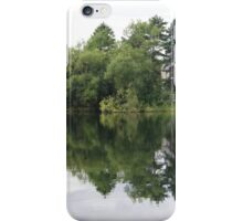 Reflections on the water - Derry Ireland  iPhone Case/Skin