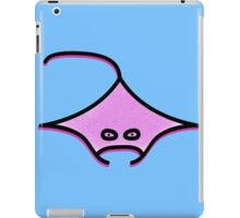 Manta in blue Fanta (the ocean I guess) iPad Case/Skin