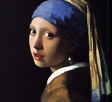 Johannes Vermeer - Girl with a Pearl Earring by pr0ves