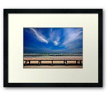 Keros beach - Lemnos island Framed Print