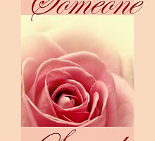 Someone Special Card by Aj Finan