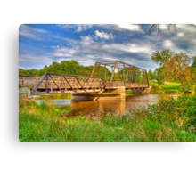 Astico Park Bridge Canvas Print