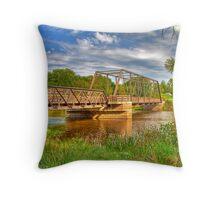 Astico Park Bridge Throw Pillow