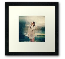 Rain storms Framed Print