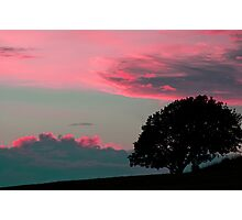 Under a red sky Photographic Print