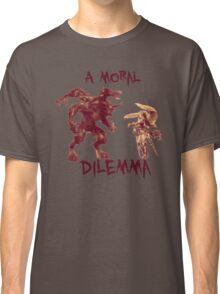 A Moral Dilemma - Orange Classic T-Shirt