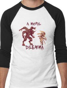 A Moral Dilemma - Orange Men's Baseball ¾ T-Shirt