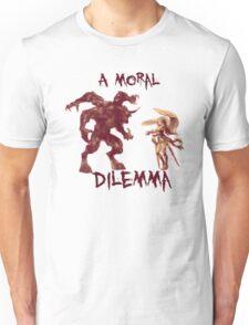 A Moral Dilemma - Orange Unisex T-Shirt