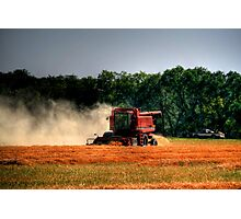 Harvest Storm Photographic Print