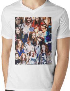 Karen Gillan Mens V-Neck T-Shirt