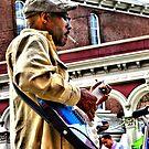 street musician by Marda Bebb