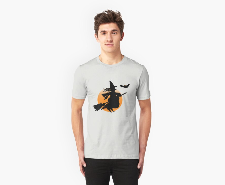 Halloween witch design by walstraasart