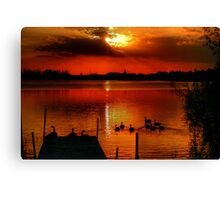 That Special Time of Day Canvas Print