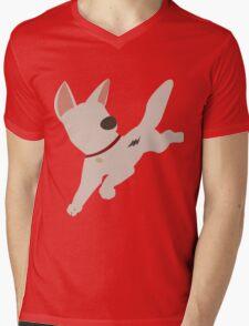 Bolt the super dog Mens V-Neck T-Shirt