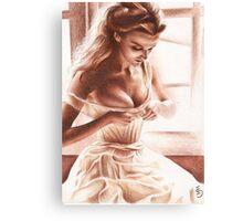 Ties Canvas Print