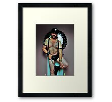 Troy - U.S. Leather Cop...Let's Have Some Fun Framed Print