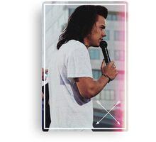 Harry Styles ft. Arrows Canvas Print