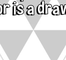 Gravity never loses. The best you can hope for is a draw. Sticker