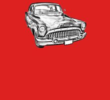 1953 Buick Special Antique Car Illustration T-Shirt