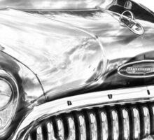 1953 Buick Special Antique Car Illustration Sticker