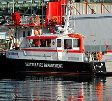 Fire Boat by lincolngraham