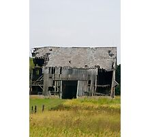 tired barn Photographic Print