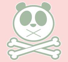 Panda Cross Bone - Green 2 Baby Tee