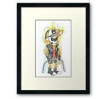 Dipper Rider 001 Framed Print