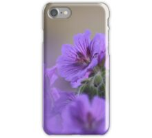 A meadow of cranesbill iPhone Case/Skin