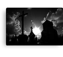 shining end Canvas Print