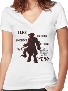 A Few Of My Favourite Things Women's Fitted V-Neck T-Shirt