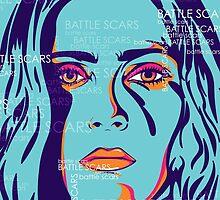 BATTLE SCARS WRITTEN - Made by Jroché by MADE BY JROCHÉ