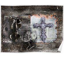 Kneel To The Cross Poster