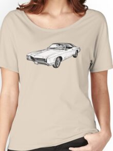 1967 Buick Riviera Illustration Women's Relaxed Fit T-Shirt