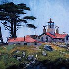 Battery Point Lighthouse Crescent City California by Diane Schuster