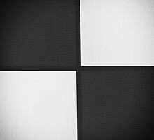 Black and White Leather Patchwork by Gypsykiss