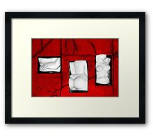Set My Body Free Framed Print