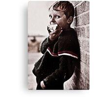 Irish boy Canvas Print
