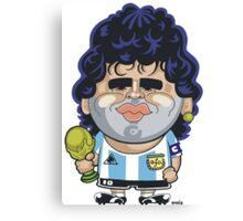 Diego Maradona Canvas Print