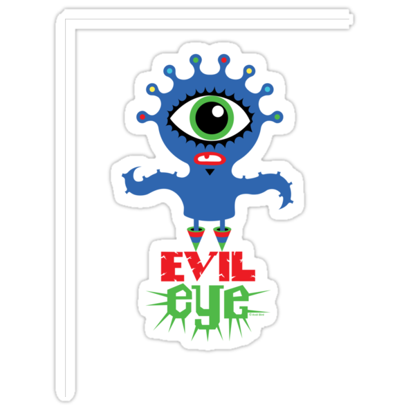 Evil Eye - two  by Andi Bird