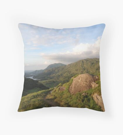Ireland- Ring of Kerry Throw Pillow