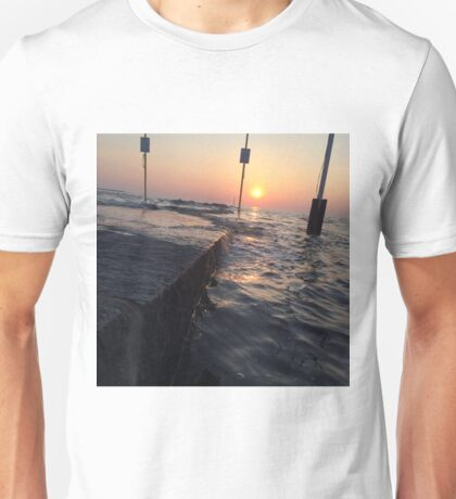 burnham-on-sea, tipsy twilight Unisex T-Shirt